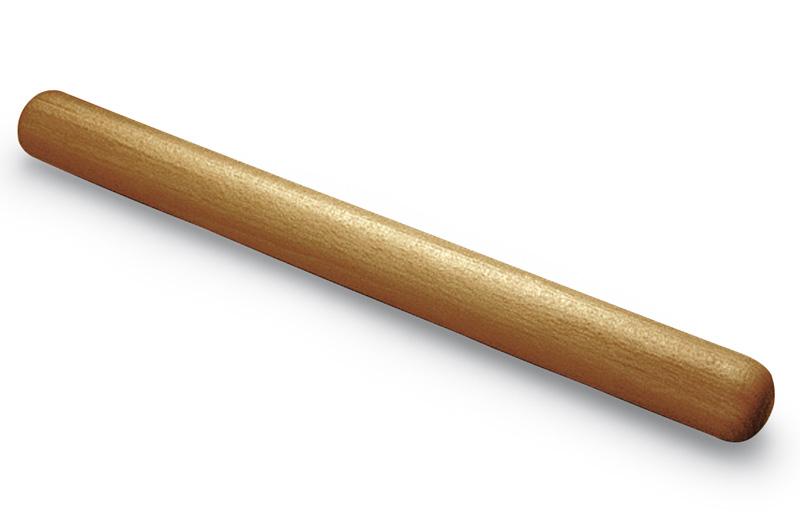 Rouleau à pâtisserie, bois poli  hêtre, 50 cm Gobel  ~ Rouleau Patisserie Bois