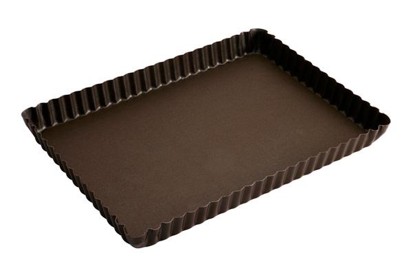 moule tarte rectangulaire 29 x 20 5 cm gobel moule tarte rectangulaire 29 x 20 5 cm moule. Black Bedroom Furniture Sets. Home Design Ideas