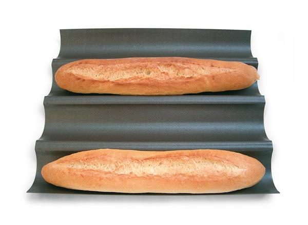 moule baguettes plaque baguette moule baguettes de pain gobel. Black Bedroom Furniture Sets. Home Design Ideas