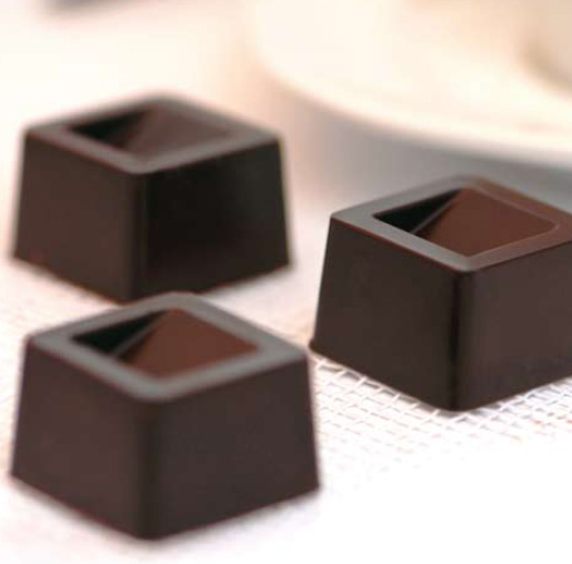 moule chocolat cubo en silicone silikomart moule. Black Bedroom Furniture Sets. Home Design Ideas