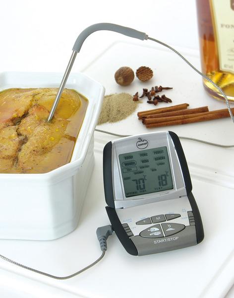 Thermo sonde de cuisson mastrad thermo sonde de cuisson - Sonde temperature cuisine ...